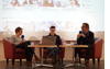 Podiumsdiskussion Ute Noeth, Linus Giese, Jens Laloire